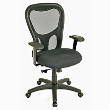 Apollo Mesh and Fabric High Back Computer Chair, CH04733