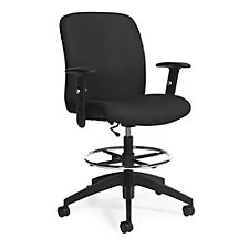 TruForm Fabric Heavy Duty Drafting Stool, CH51720