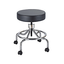 Lab Stool with Low Base and Foot Rest, CH50072