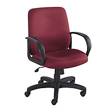 Poise Fabric Mid Back Chair, CH50090