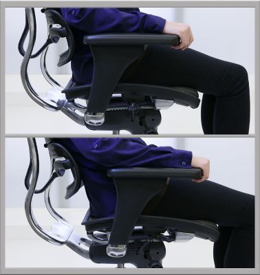 office chair seat depth