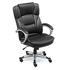 Omega Big and Tall Faux Leather Executive Chair, CH04957