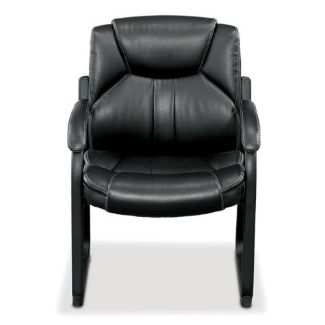 Omega Faux Leather Oversized Guest Chair Officechairs Com
