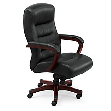 Vista Faux Leather Big and Tall Executive Chair, CH50063