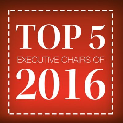 Top 5 Executive Chairs of 2016