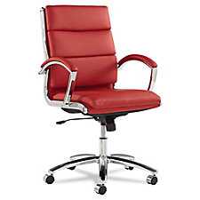 Neratoli Faux Leather Mid-Back Chair, CH50799