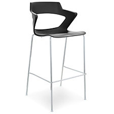 Zee Polypropylene Stool with Wing Arms, CH51359