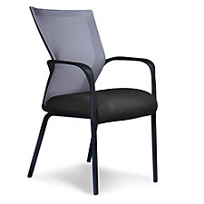Run Four-Way Stretch Mesh Mid Back Guest Chair, CH51348