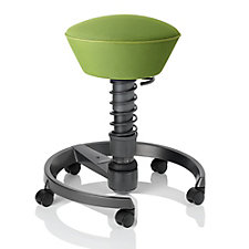 Swopper Mobile Fabric Spring Stool with Multi-Motion Action, CH51035