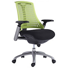Modrest Fabric Seat Plastic Back Task Chair, CH51771