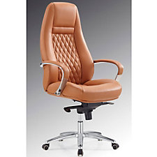 Modrest Faux Leather High Back Contemporary Computer Chair, CH51778