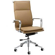 Modrest Faux Leather High Back Task Chair, CH51781