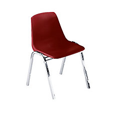 Armless Polypropylene Stack Chair with Chrome Frame, CH03396