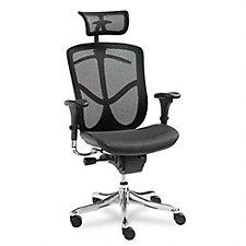 EQ Mesh High Back Ergonomic Chair with Headrest, CH04502