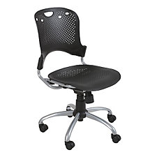 Circlulation Black Plastic Task Chair, CH03813