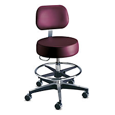 Century Medical Stool with Backrest, CH50621