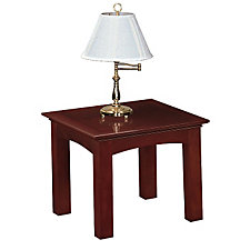 Del Mar Veneer Square End Table, CH50222