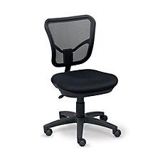 Tiburon Mesh Petite Armless Task Chair, CH50809