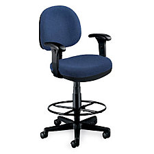 Lite Use Chair with Arms & Stool Kt, CH01819