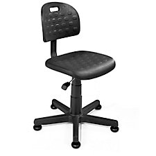 Polyurethane Task Chair with Glides, CH50615