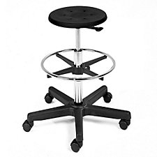 Backless Stool with Foot Ring, CH50622