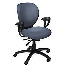 Azeo Fabric Mid Back Ergonomic Chair, CH04473