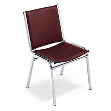 "Vinyl Armless Stack Chair - 2"" Thick Seat, CH03040"