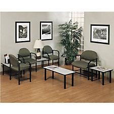 Designer Upholstery Reception Set with Big and Tall Seating, CH03674