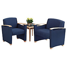 Reception Seating Group - Two Guest Chairs and End Table, CH02944