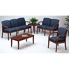 Six Person Capacity Transitional Reception Seating Group, CH02960