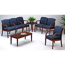 Six Person Transitional Reception Seating Group, CH02961