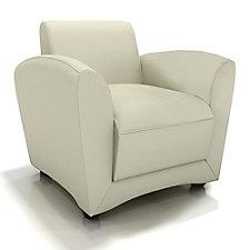 Santa Cruz Genuine Leather Mobile Lounge Chair, CH50661