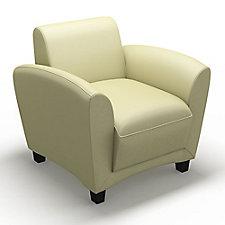 Santa Cruz Genuine Leather Lounge Chair, CH50664
