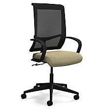 Commute Fabric Seat Mesh Back Conference Chair, CH50673