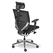 Arris High Back Mesh Ergonomic Chair with Fabric Seat, CH04948