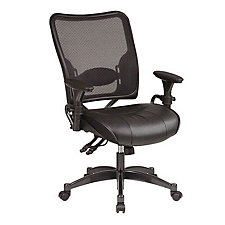 Solstice Mesh and Leather Ergonomic Chair, CH01830