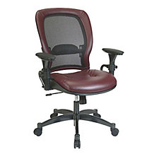 Eclipse Mesh and Leather Ergonomic Chair, CH01833