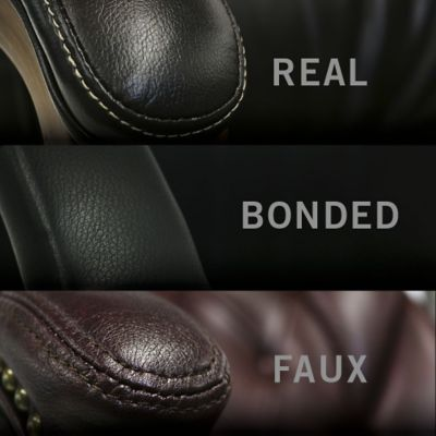 What are the Differences Between Real, Bonded and Faux Leather?