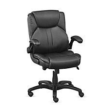 Omega Polyurethane Flip Arm Task Chair, CH50653