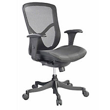 Fuzion Mesh Mid Back Ergonomic Chair, CH04731