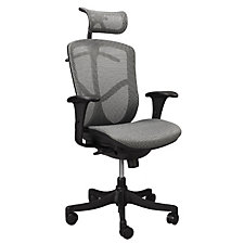 Fuzion Mesh High Back Ergonomic Chair with Headrest, CH04730