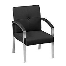 Guest Arm Chair with Chrome Legs, CH50855