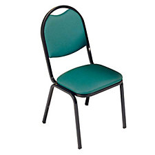 Round Back Stack Chair, CH03125