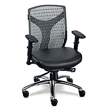 Plastic Back Conference Chair with Polyurethane Seat, CH51160