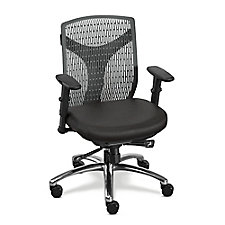 Plastic Back Conference Chair with Fabric Seat, CH51161