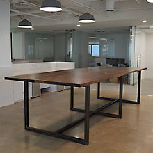 """Solid Wood Top Conference Table - 120""""W, 8804833"""