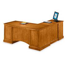 Belmont Executive L-Desk with Left Return, DMI-713-58