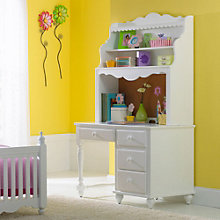 """Lauren Child's Desk with Hutch - 48""""W, 8803972"""