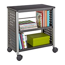 "Scoot Mobile Two Shelf Bookcase - 27""H, 8802501"