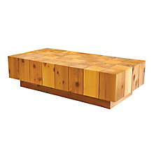 "Solid Block Coffee Table - 60""W, 8804836"